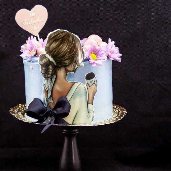 Tarta Chica Elegante
